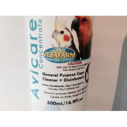 AVICARE CONCENTRATE DISINFECTANT  500ml