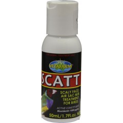 SCATT  50ml Scaly Face/Air Sac Mite  VETAFARM